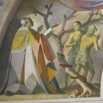Presbiterio - dettaglio Adamo ed Eva