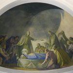 Presbiterio - dettaglio Dormizione di Maria SS