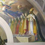 Presbiterio - dettaglio PioXII e papi