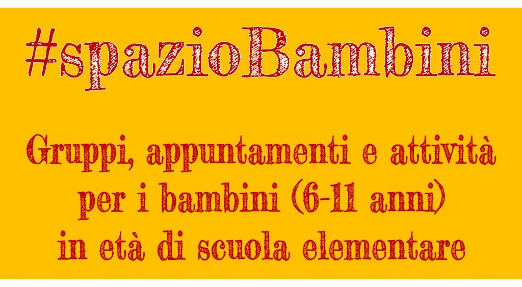#spazioBambini