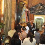 Reposzione statua Vergine (10)