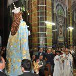 Reposzione statua Vergine (2)