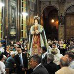 Reposzione statua Vergine (6)