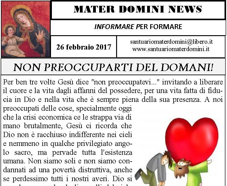 MATERDOMINI NEWS 26 FEBBRAIO 2017_slide