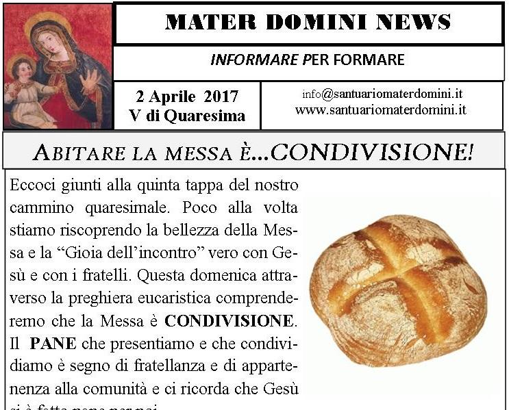 MATERDOMINI NEWS 2 APRILE 2017 (1)