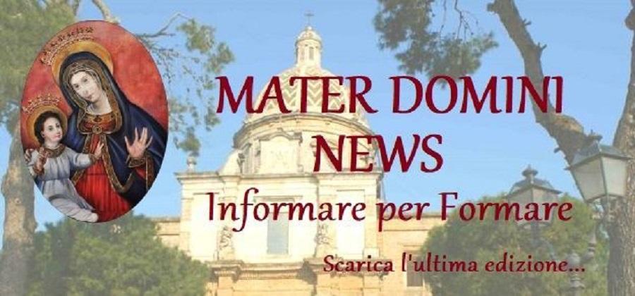 Materdomini news