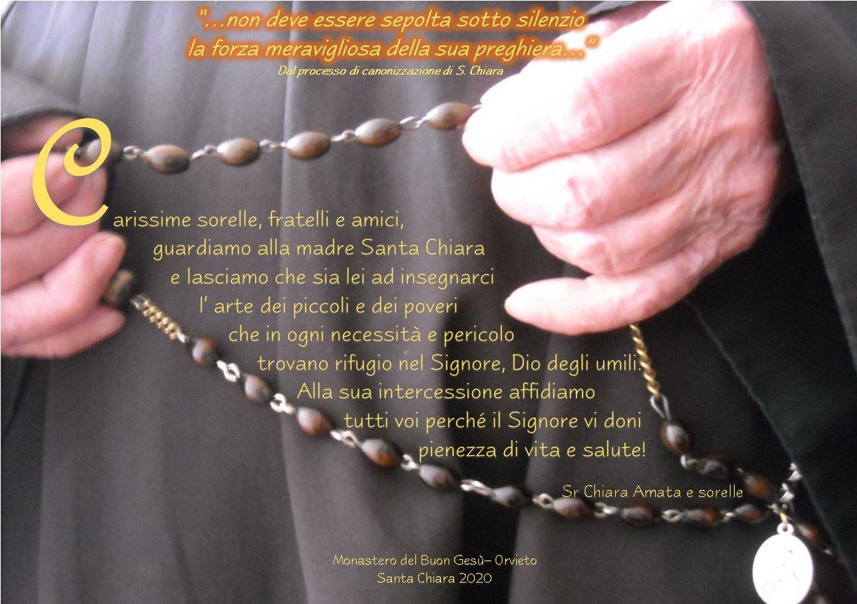 Auguri S. Chiara