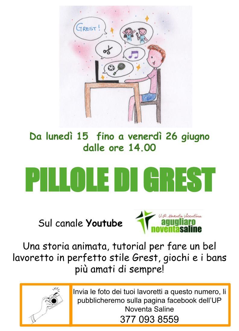 PILLOLE DI GREST
