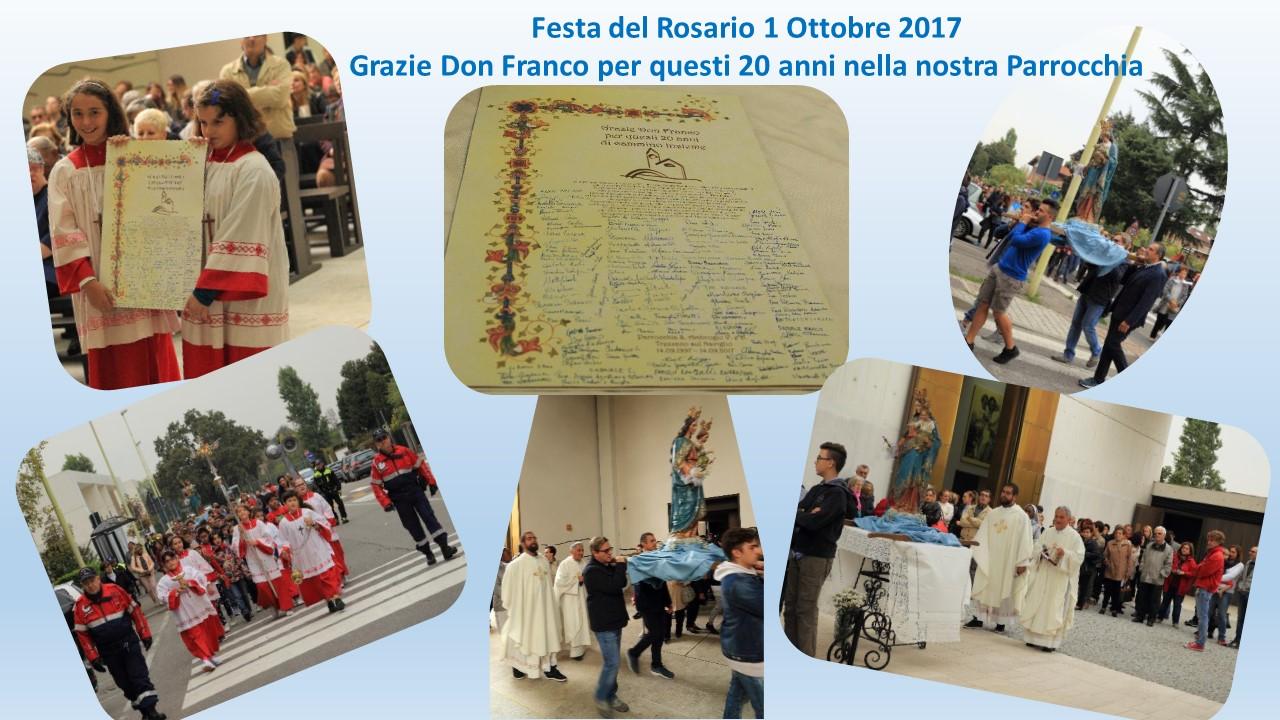 Presentazione festa rosario