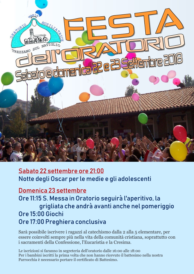 Festa dell'Oratorio