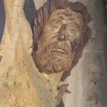 Particolare del Crocifisso di S.Andrea di Giovanni Pisano