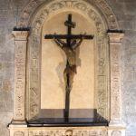 Crocifisso ligneo di Giovanni Pisano per la chiesa di S.Andrea.
