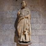 Scultura di Sant'Andrea Apostolo di Giovanni Pisano