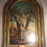 Martirio Sant'Andrea Apostolo Giovan Battista Volponi