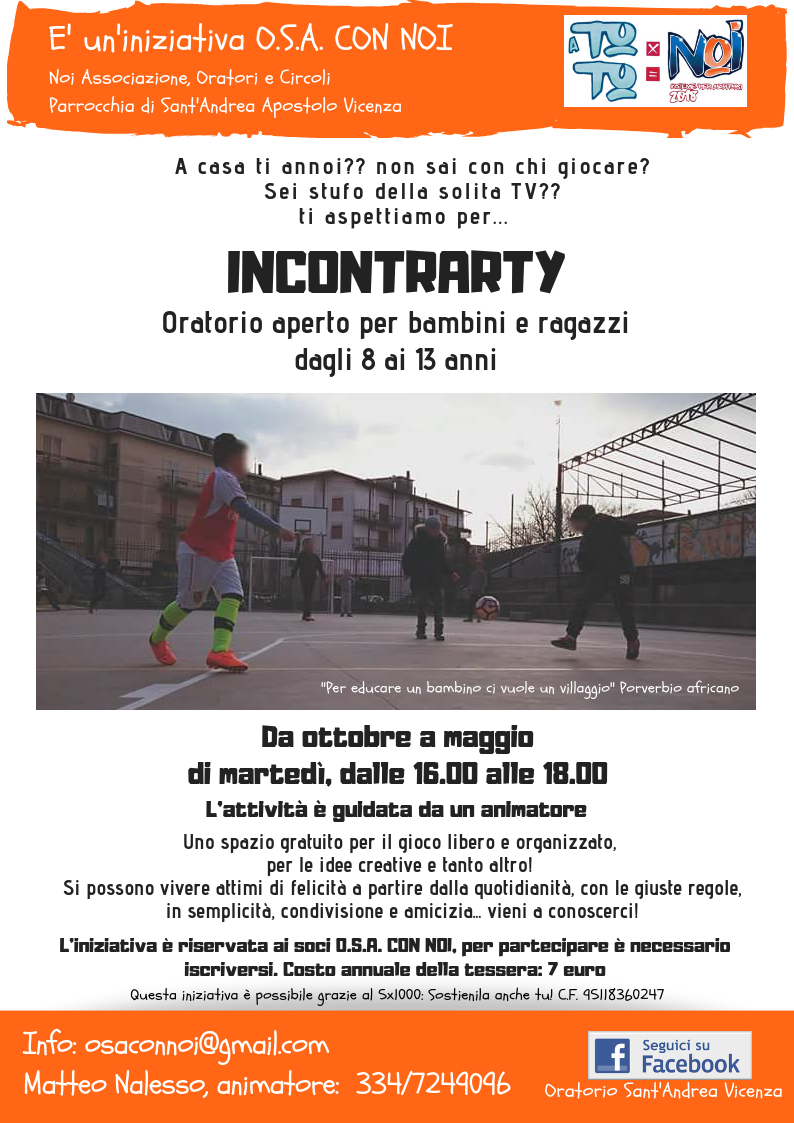 Incontrarty 2018