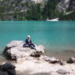 020 Al Lago di Braies (come Paolina Bonaparte all'Elba)