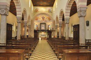 Chiesa parrocchiale Foza - interno