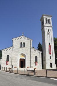 Chiesa parrocchiale Foza - esterno
