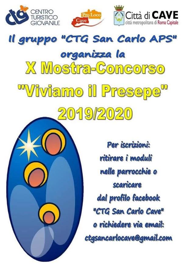 CTG Mostra Presepi X Edizione_Locandina