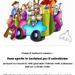 Locandina inizio catechismo 2019-2020