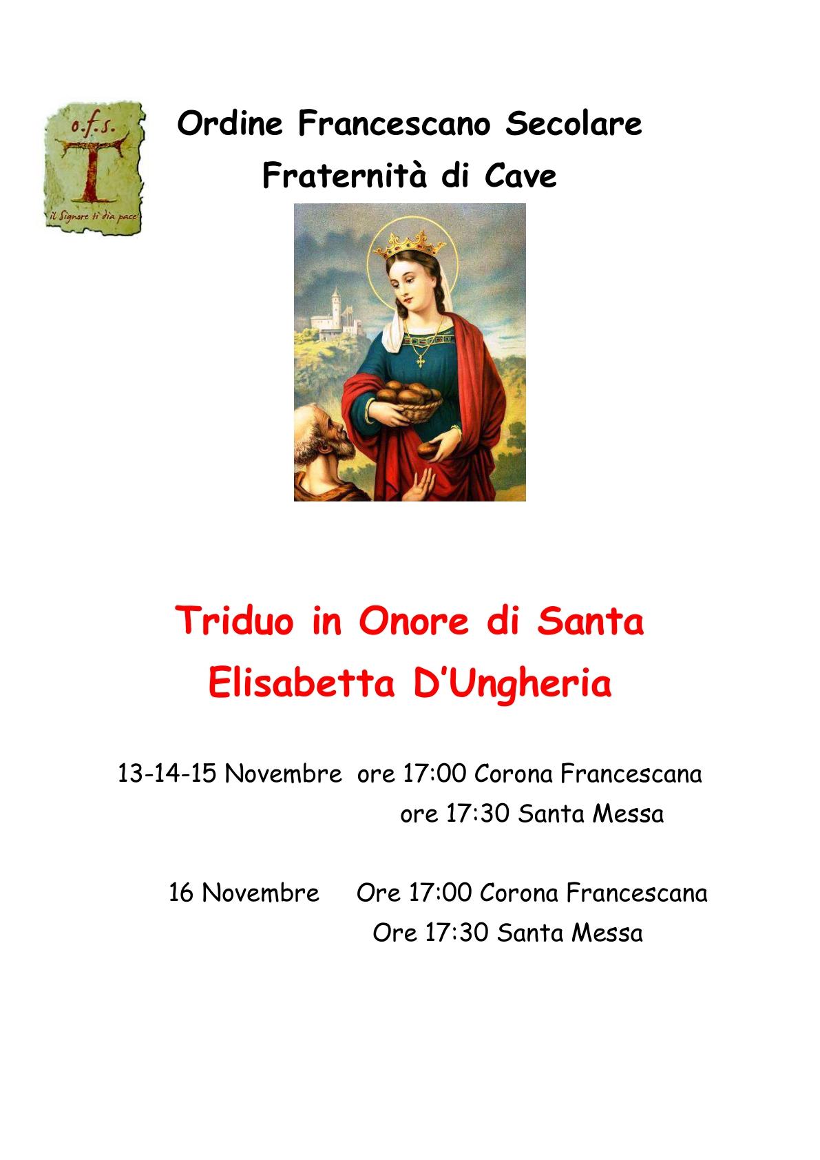 Triduo Sant'Elisabetta 2019_1