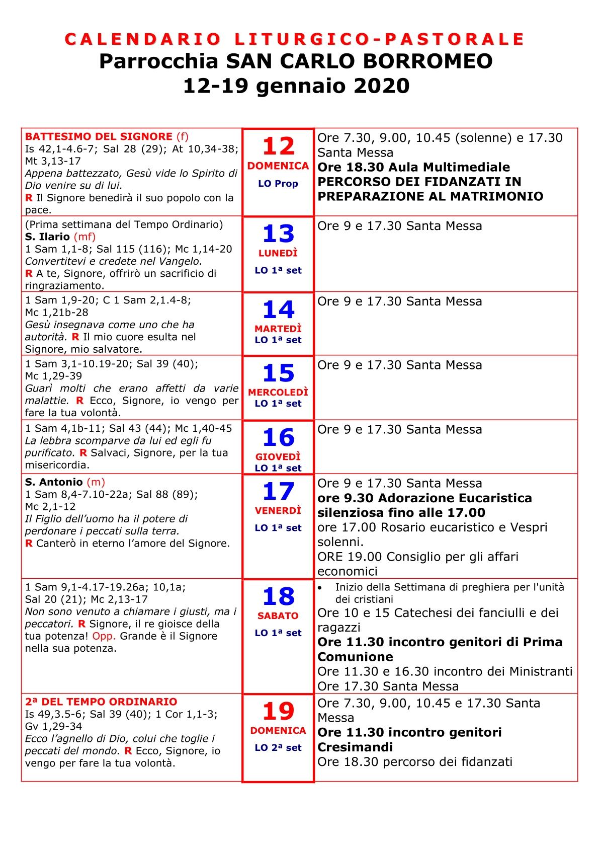 1 avvisi 12-19