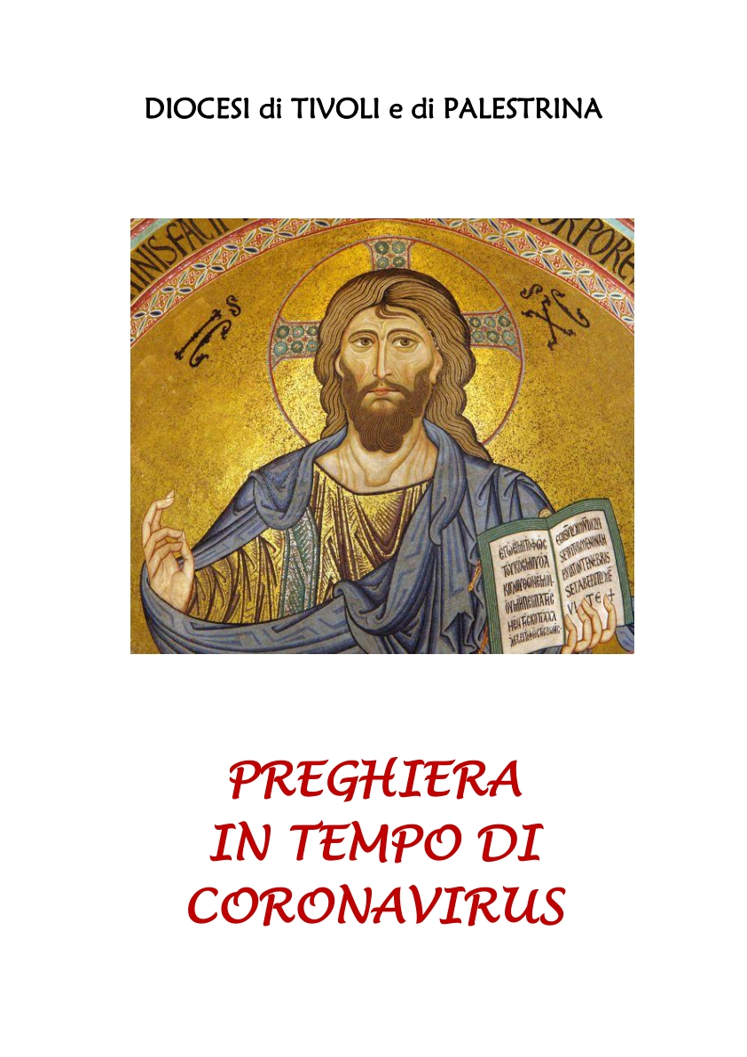 1 PREGHIERA IN TEMPO DI CORONAVIRUS