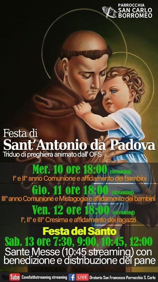Sant'Antonio 2020_Locandina
