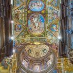 Veduta dell'interno della cupola