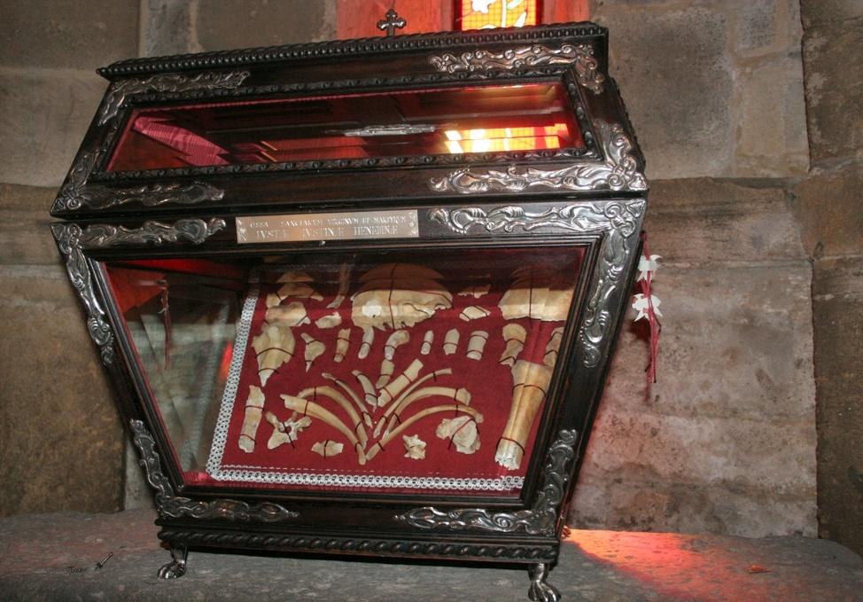 Reliquie Santa Giusta