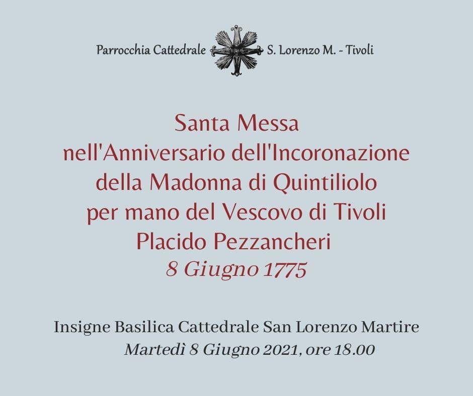 Santa Messa Anniversario Incoronazione