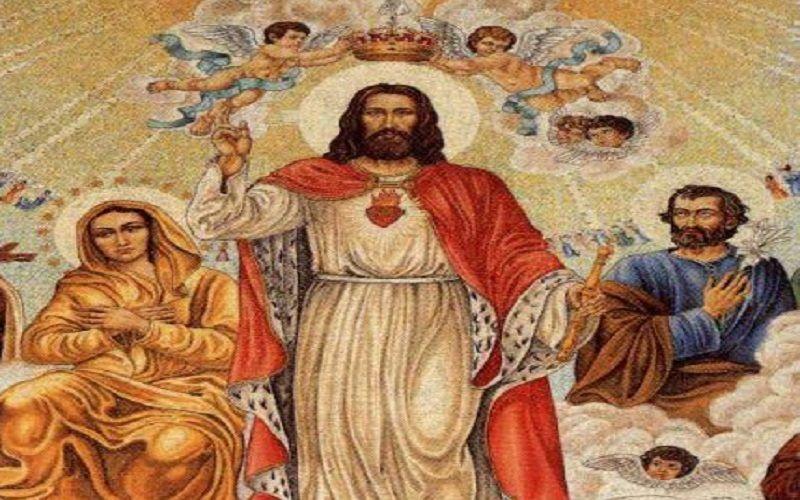 Risultati immagini per Immagini cristo re dell'universo