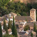 -roofs-of-church-San-Pedro-y-Pablo-Granada-Spain-031414B7F22000EF