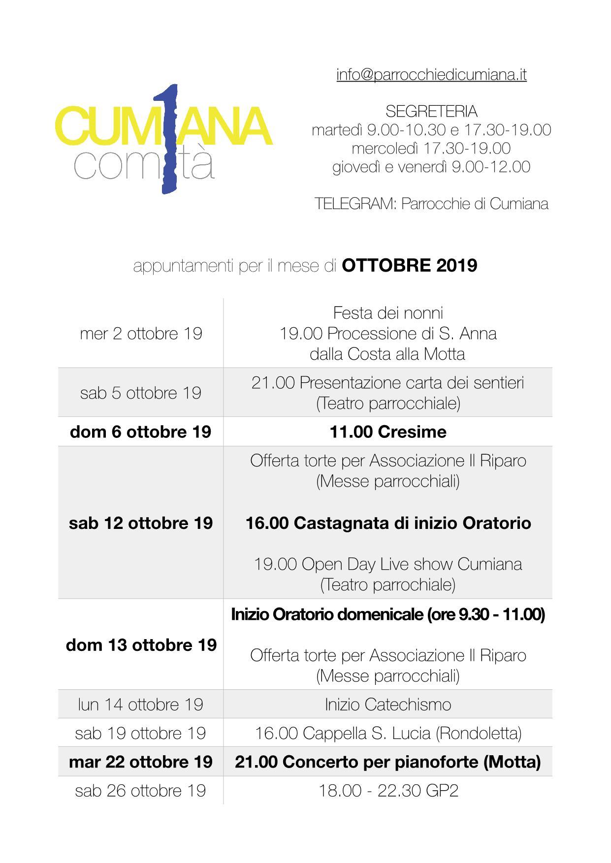 Calendario pastorale ottobre 2019-1_1
