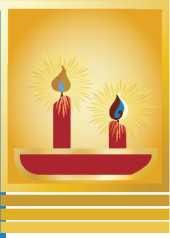 candele 2 avvento
