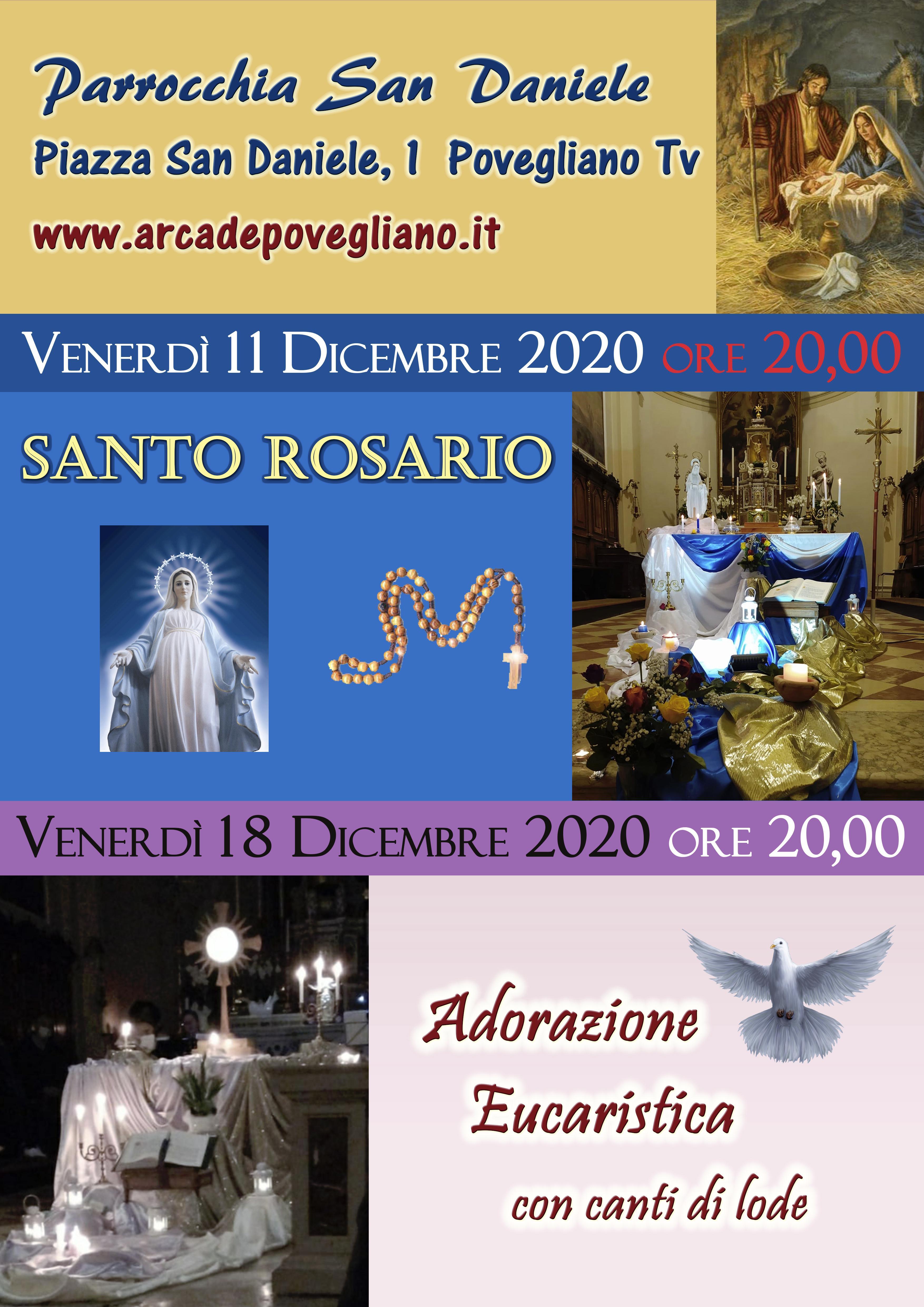 rosario e adorazione dicembre 2020 collaborazione