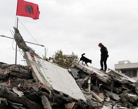 Earthquake aftermath in Albania