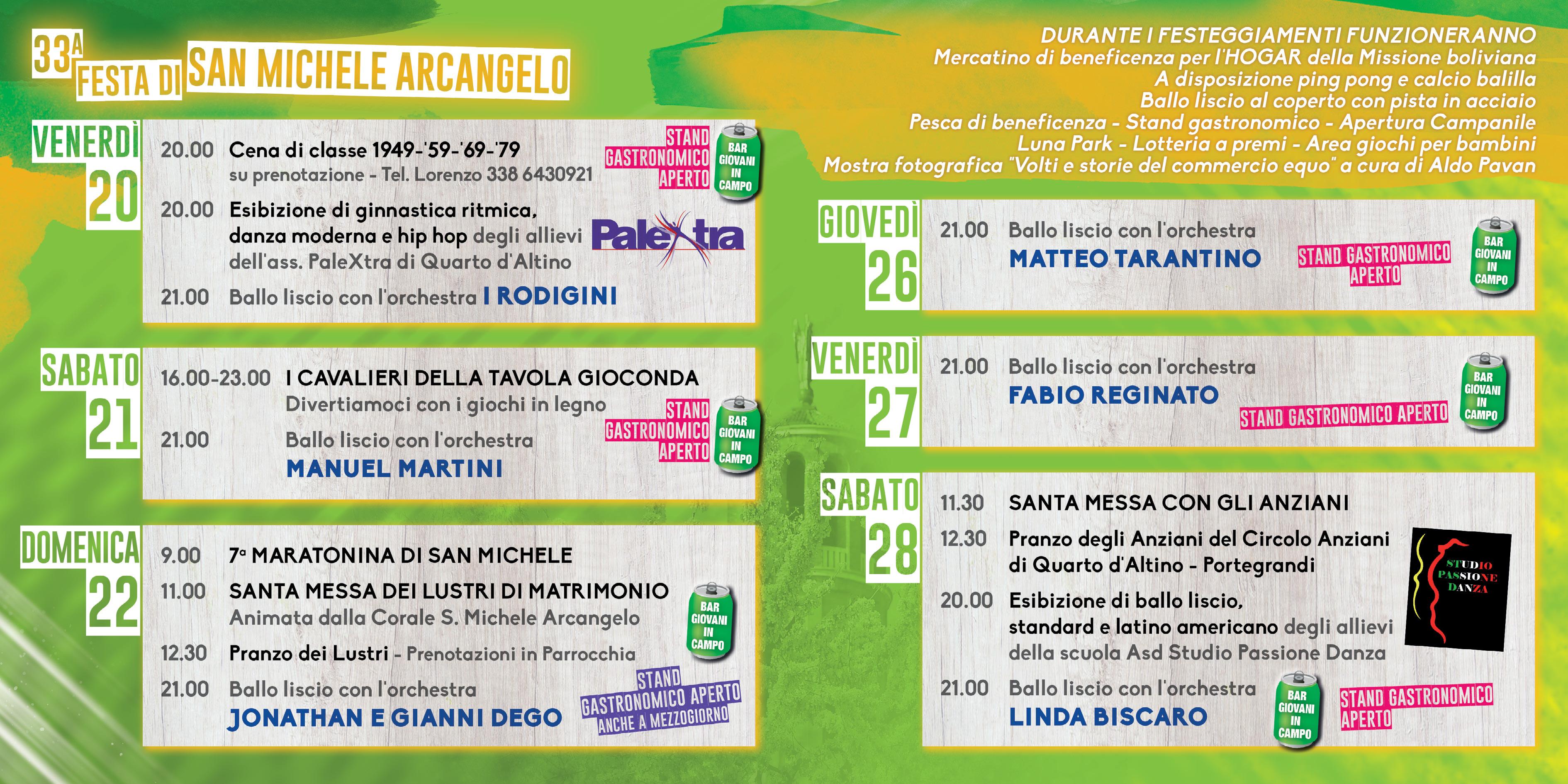 San Michele Data Calendario.Quarto D Altino Portegrandi E Altino Collaborazione