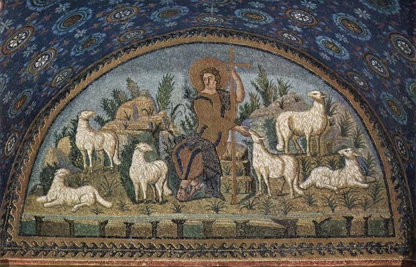4 Gesu buon pastore
