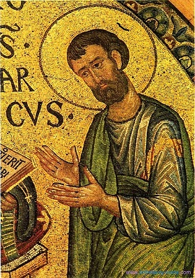 0001_MarcoEvangelista_mosaico_XIIIsecolo_BasilicaSanMarco_Venezia