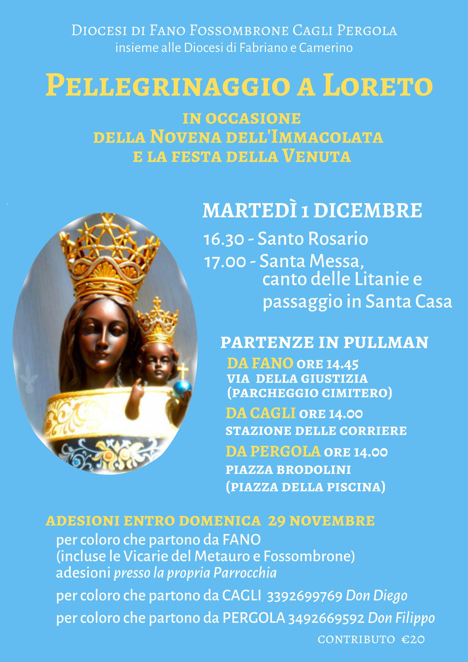 Loreto Novena 2019
