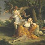 Batoni: Agar e l'angelo