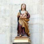 Madonna del Duomo, scultura lignea dei primi anni del XVI secolo. Autore lombardo ignoto