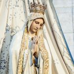 """Madonna di Fatima: statua omonima arrivata a Pavia nell'Anno Santo 1950 come """"Madonna Pellegrina"""""""