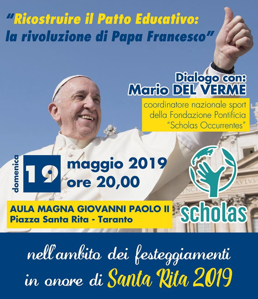 Santa Rita Giorno Calendario.Feste Parrocchia Di Santa Rita Taranto
