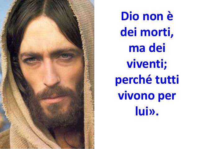 Dio non è tra i morti