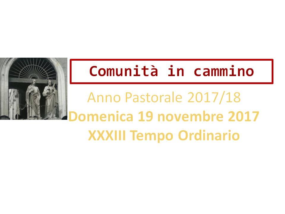 Anno Pastorale 2017