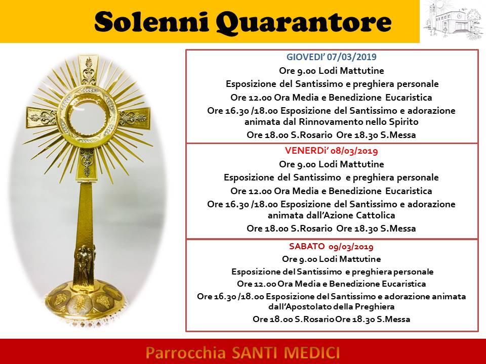 Solenni Quarantore[1926]
