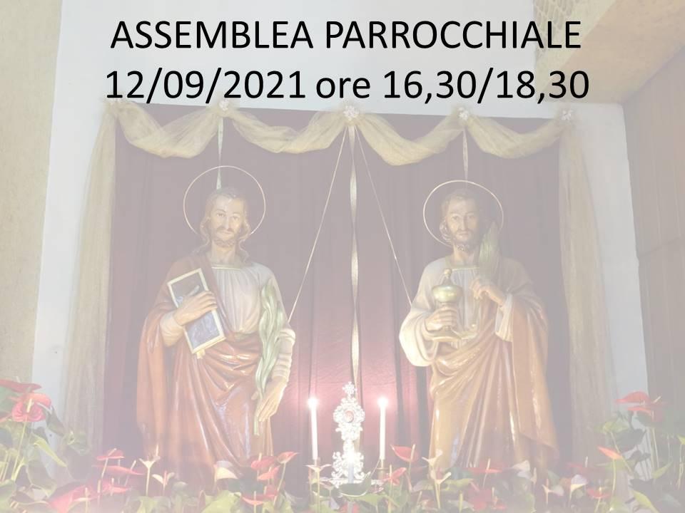 ASSEMBLEA PARROCCHIALE