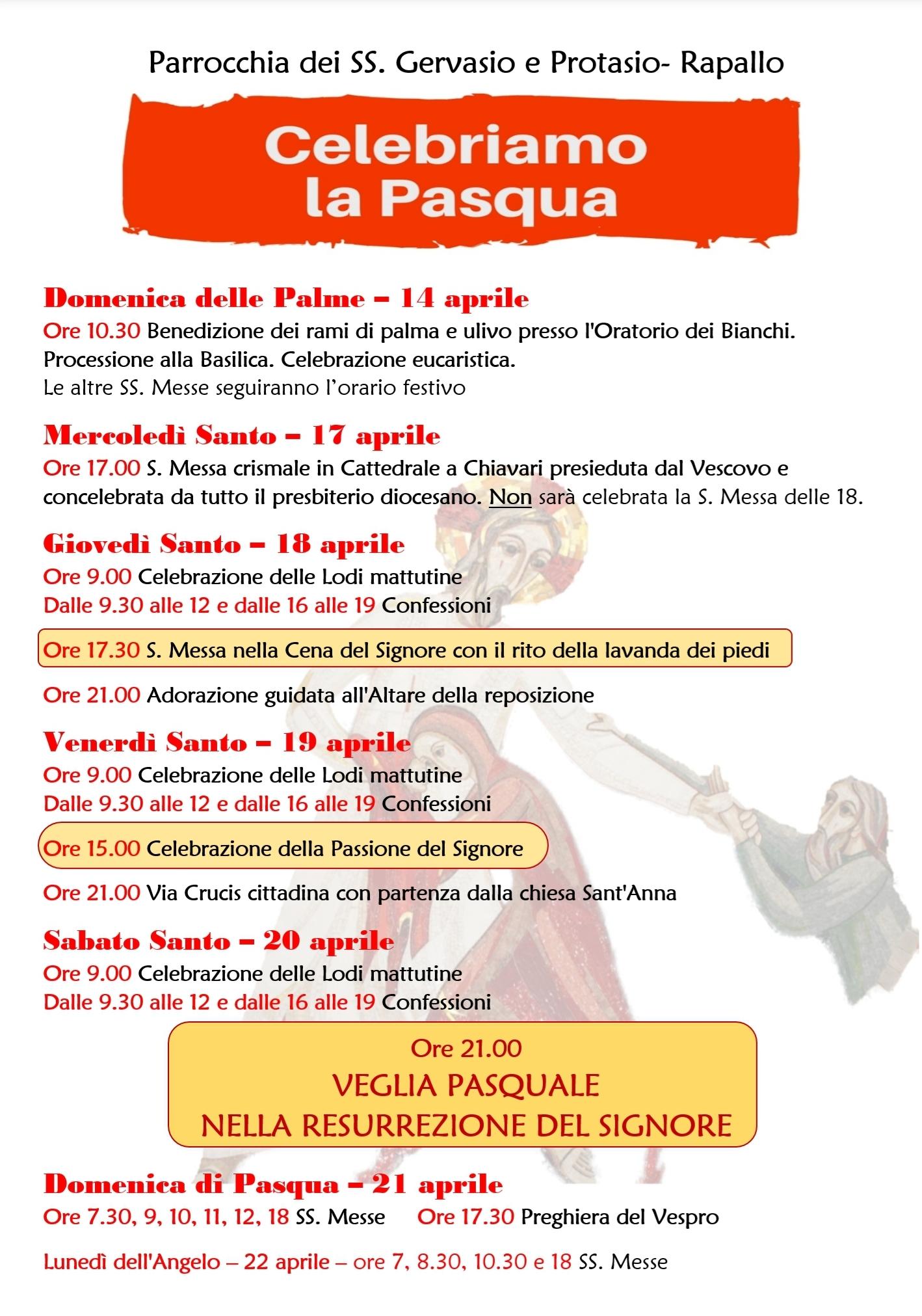 Santi Del Calendario.Calendario Delle Celebrazioni Pasquali Parrocchia Dei Santi